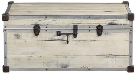 Frankie Collection A504-39 42″ Accent Trunk Constructed of Brazilian pine in Rustic Bohemian