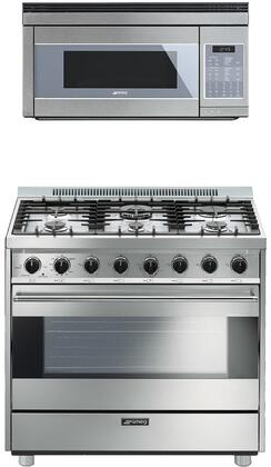 Smeg 1054437 Kitchen Appliance Package & Bundle Stainless Steel, main image