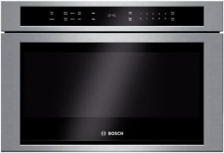Bosch 800 Series HMD8451UC Microwave Drawer Stainless Steel, Main Image