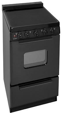 Premier  EAS2X0BP Freestanding Electric Range Black, In Black
