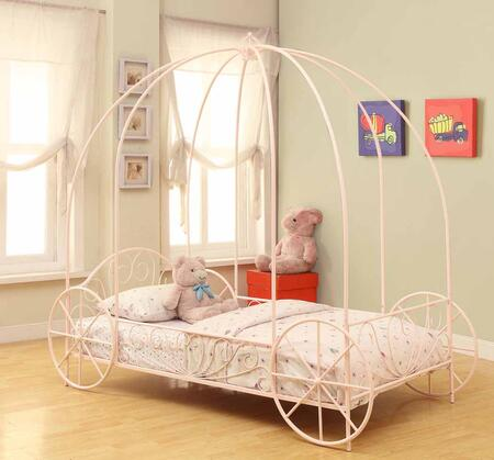 Coaster Massi 400155T Bed Pink, Main Image