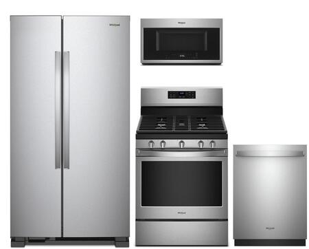 Whirlpool 1054544 Kitchen Appliance Package & Bundle Stainless Steel, main image