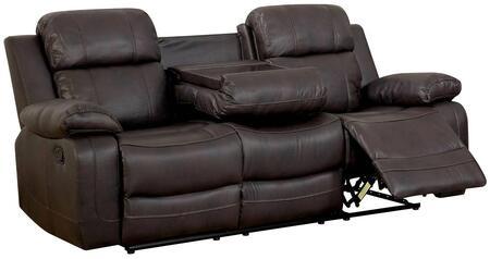 Furniture of America Pondera CM6568SF Motion Sofa Brown, Main Image