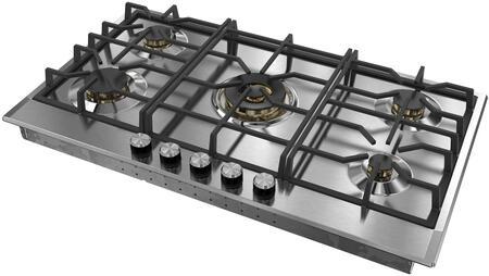 Verona Designer VDGCT536FSS Gas Cooktop Stainless Steel, VDGCT536FSS Gas Cooktop