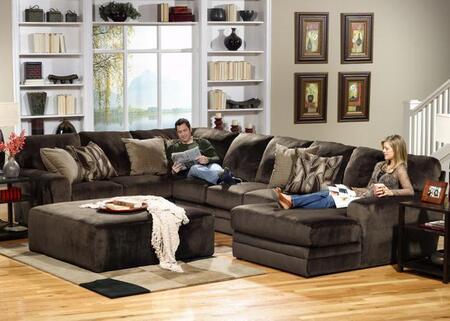 Jackson Furniture  437772 Sectional Sofa Brown, 1