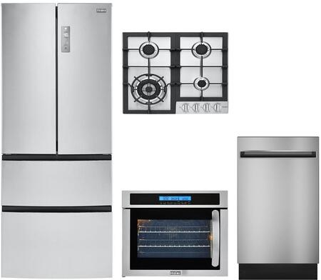 Haier 892156 Kitchen Appliance Package & Bundle Stainless Steel, main image