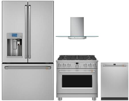 Cafe 1054663 Kitchen Appliance Package & Bundle Stainless Steel, main image