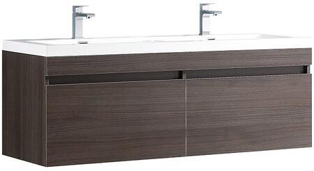Fresca Largo FCB8040GOI Sink Vanity Gray, Main Image