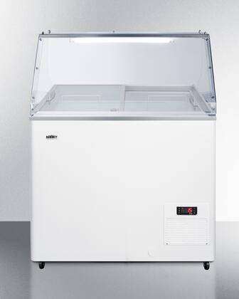 Summit NOVA22PDC Chest Freezer White, NOVA22PDC Main