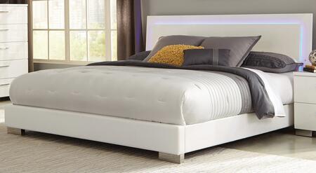 Coaster Felicity 203500KE Bed White, Main Image