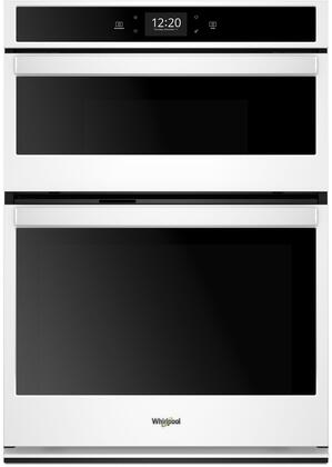 Whirlpool WOC75EC0HW Double Wall Oven White, Main Image