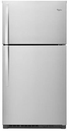 Whirlpool  WRT511SZDM Top Freezer Refrigerator Stainless Steel, Stainless Steel