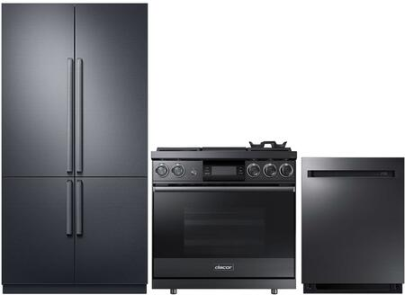 Dacor  938359 Kitchen Appliance Package Graphite Stainless Steel, 1