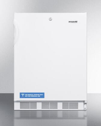 Summit  VT65ML7ADA Compact Freezer White, Main View