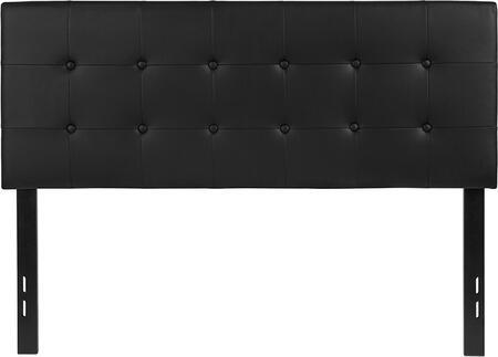 Flash Furniture Lennox HGHB1705FBKGG Headboard Black, HG HB1705 F BK GG