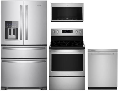 Whirlpool 1125693 Kitchen Appliance Package & Bundle Stainless Steel, main image
