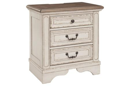 Signature Design by Ashley Realyn B74393 Nightstand White, B74393 Main View