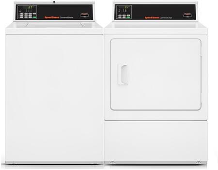 Speed Queen 963461 Washer & Dryer Set White, 1