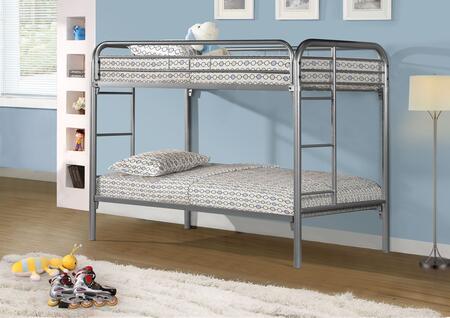 Monarch  I2230S Bed Silver, 1