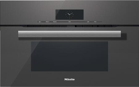 Miele M Touch H6870BMGRGR Single Wall Oven Graphite Stainless Steel, Main Image