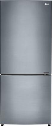 LG LBNC15221V Bottom Freezer Refrigerator Silver, Main View