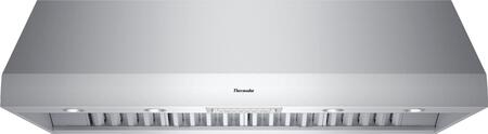 Thermador Professional PH60GS Wall Mount Range Hood Stainless Steel, PH60GS 60-Inch Wall Hood with 27-Inch Depth