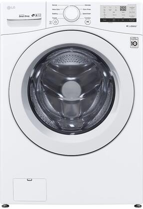 LG WM3400CW Washer White, WM3400CW Front Load Washer