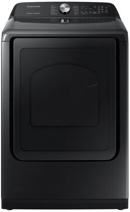 Samsung  DVE50R5400V Electric Dryer Black Stainless Steel, Main Image
