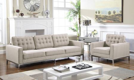 Chic Home Olson FSA2937ACSET Living Room Set Brown, Living Room Set