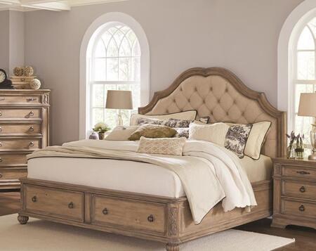Coaster Ilana 205070KW Bed Brown, Bed