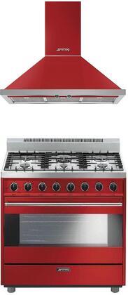 Smeg 1054415 Kitchen Appliance Package & Bundle Red, main image