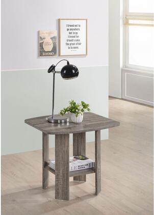 Progressive Furniture Chip T17804 End Table Brown, Main Image