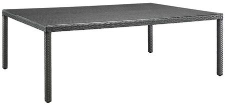 Modway Sojourn EEI1933CHC Outdoor Patio Table Gray, 1