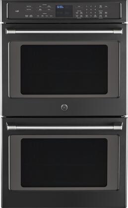 Cafe  CT9550EKDS Double Wall Oven Black, Main image