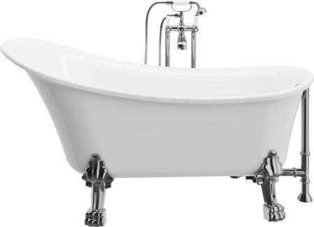 A and E Dora BT83059 Bath Tub White, BT83059 Main View