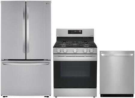 LG 1130874 Kitchen Appliance Package & Bundle Stainless Steel, main image
