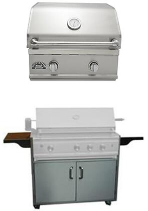 SO261BQTR TR Series 26″ Freestanding Luxury Natural Gas Grill with 36 000 BTU 2 Burner  480 Sq. In. Grilling Area  4″ Easy-Read Temperature Gauge and