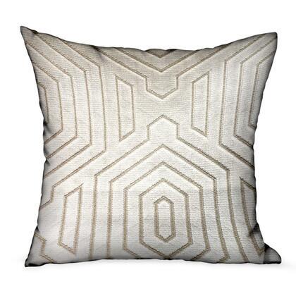 Plutus Brands Pearly Velvet PBRA23462424DP Pillow, PBRA2346
