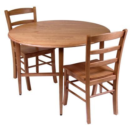Winsome Hannah 34342 Dining Room Set , 34342 GateLegTable Chair Set A