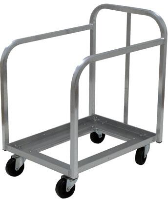 Advance Tabco PD1X Commercial Food and Beverage Carrier Dollies Silver, 1