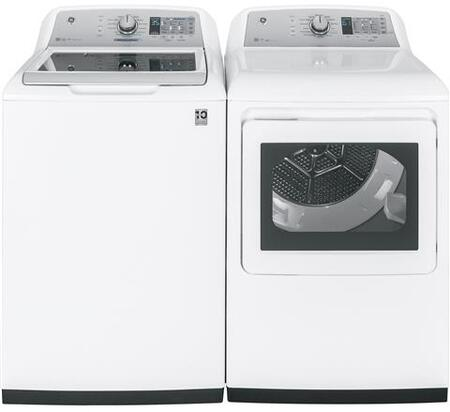 GE 844213 Washer & Dryer Set White, 1