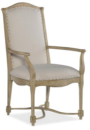 Hooker Furniture CiaoBella 58057530085 Dining Room Chair Beige, Silo Image