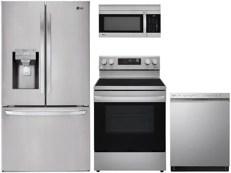 LG  959960 Kitchen Appliance Package Stainless Steel, main image
