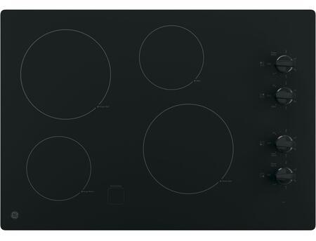 GE  JP3030DJBB Electric Cooktop Black, Main View