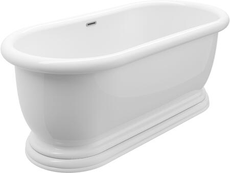 BT-0643-NF Austin 69″ Freestanding Tub No Faucet  in