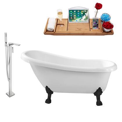 Streamline NH480BL140 Bath Tub, NH480BL 140 1T