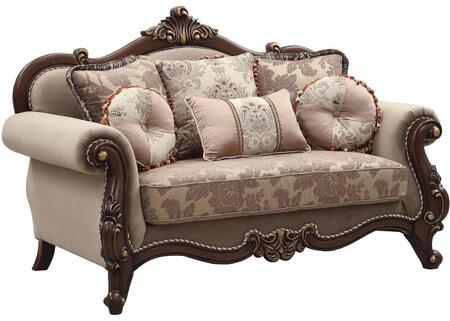 Acme Furniture Mehadi 50691 Loveseat Beige, Main Image