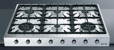 Smeg HB96CXU3 Gas Cooktop Stainless Steel, 1