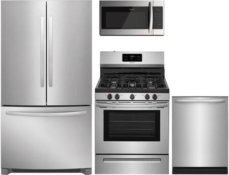 Frigidaire  1360730 Kitchen Appliance Package Stainless Steel, Main image
