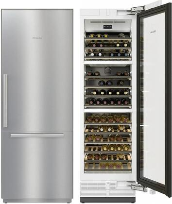Miele  1083286 Kitchen Appliance Package Stainless Steel, Main Image